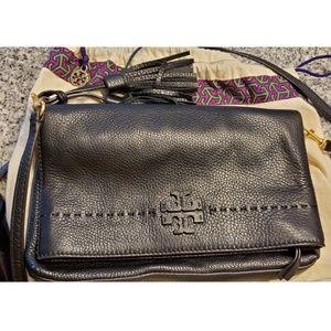Tory Burch McGraw Fold-Over Crossbody Bag